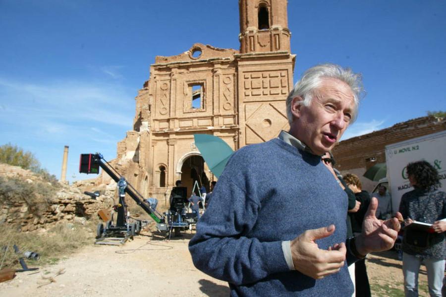 Albert Boadella localizó en el viejo Belchite su película 'Buen viaje, Excelencia', de 2002